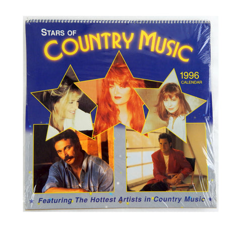 Vintage 1996 2024 Hoyle Products Stars of Country Music Calendar