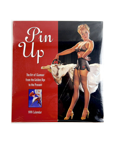 1999 2021 The Art of Glamour From the Golden Age Pin Up Calendar