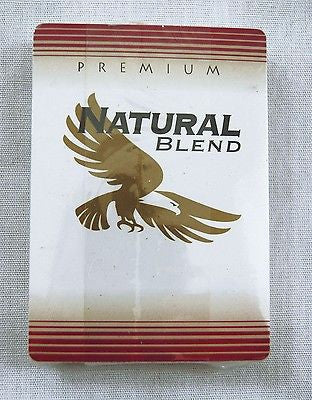 Natural Blend Premium Cigarettes Poker Size Playing Cards