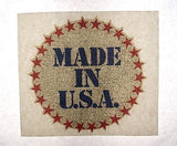 Vintage 1970's Made in U.S.A. Iron On T Shirt Transfer