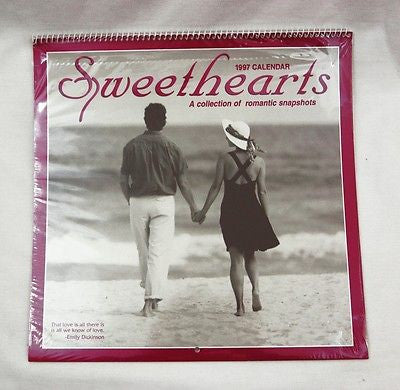 1997 2025 Sweethearts A Collection of Romantic Snapshots Calendar