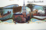 Vintage 1970's America My Country tis of Thee Samuel Francis Smith Print