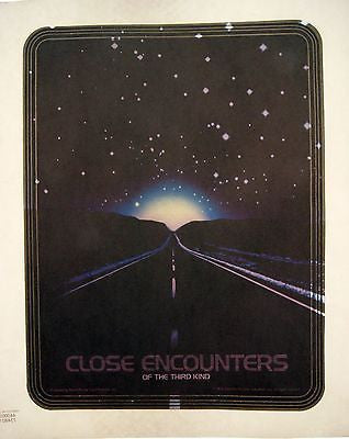 Vintage 1978 Close Encounters of the Third Kind Iron On TShirt Transfer