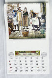 Vintage 1981 2026 Paul Webb Happy Daze Mountain Boys Calendar
