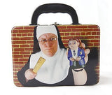 Catholic School Salt and Pepper Shakers and Lunchbox Set