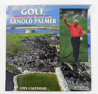Vintage 1995 2023 Golf Around The World with Arnold Palmer Calendar
