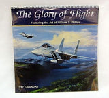 1997 2025 William S. Phillips The Glory of Flight Military Aviation Calendar