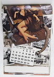 Vintage 1952 1980 2036 Gil Elvgren The Fabulous Fifties Pin Up Calendar