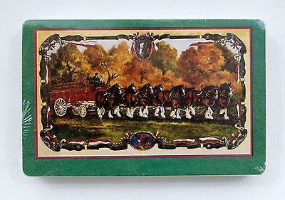 Anheuser Busch Budweiser Clydesdales Playing Cards