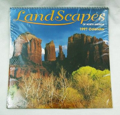 1997 2025 Hoyle Products Landscapes of North America Calendar
