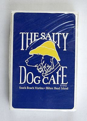Vintage 1980's The Salty Dog Cafe Hilton Head Island Poker Playing Cards