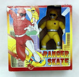 Vintage 1994 Yellow Ranger Skate Battery Operated Skateboard Action Figure