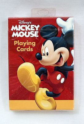 Disney Mickey Mouse Poker Size Playing Cards Bicycle Brand
