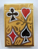 Vintage 1970's Vinylex Corporation The Red Pipe People Bridge Playing Cards