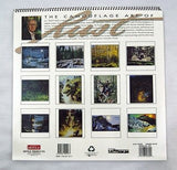 1997 2025 Donald D.L. Rusty Rust The Camouflage Art of Rust Wildlife Calendar
