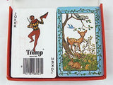 Vintage 1970's Trump Woodland and Forest Animals Two Deck Playing Cards Set