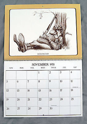 Vintage 1978 2017 Roger Martin The Moment Of Truth Sports Calendar