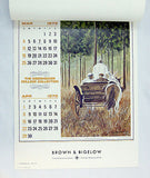 Vintage 1973 2018 President Dwight D. Eisenhower College Collection Calendar