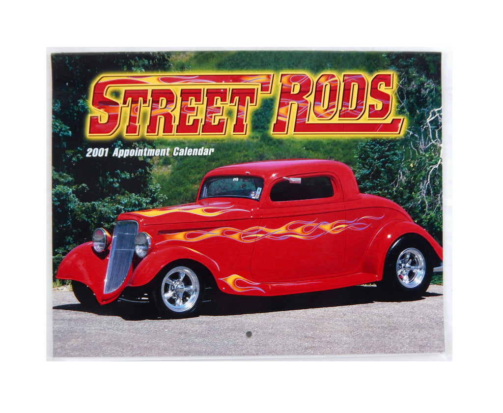 2001 2018 Street Rods 13 Month Appointment Calendar