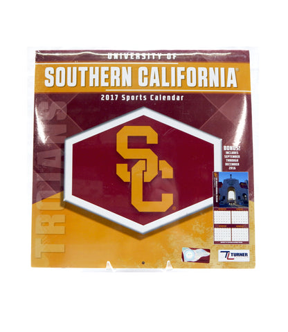 2017 2023 USC University of Southern California Sports Calendar