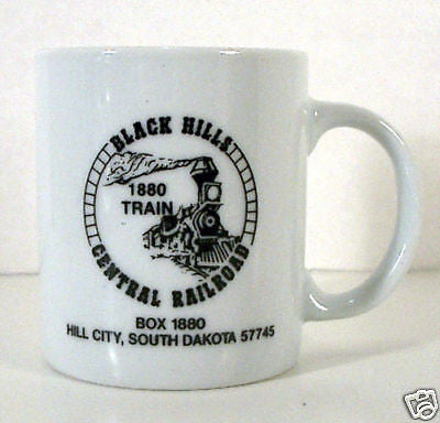 Vintage 1980's Black Hills Central Railroad Coffee Mug