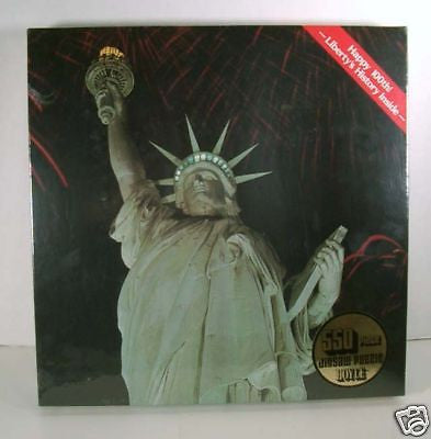 Vintage 1985 100th Anniversary Statue Of Liberty Jigsaw Puzzle
