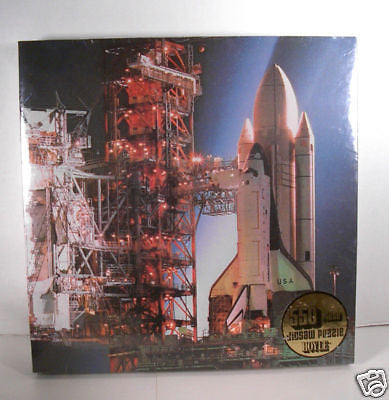 Vintage 1982 Hail Columbia NASA Space Shuttle Jigsaw Puzzle