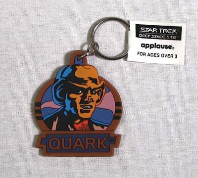 Vintage 1994 Star Trek Deep Space Nine Quark Keychain Set