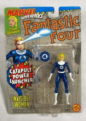 Vintage 1994 Marvel Super Heroes Fantastic Four Invisible Woman Action Figure