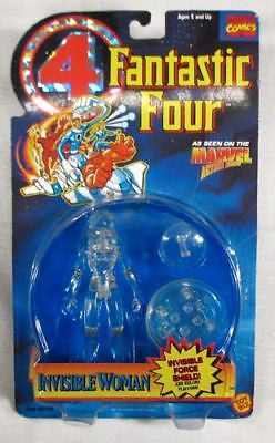 Vintage 1995 ToyBiz Marvel Fantastic Four Invisible Woman Action Figure