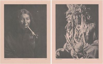 Vintage 1890 - 1910 Chippewa Portraits Native American Indian 16 Print Set