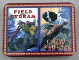 1998 Field and Stream Poker Playing Cards Set and Collector Tin Two Deck Set