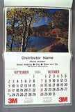 Vintage 1984 2040 3M Our Country Scenic Calendar