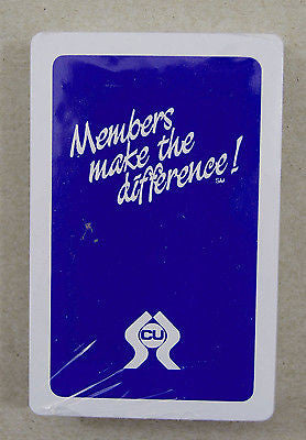 Vintage Credit Union Members Make the Difference Playing Cards 2