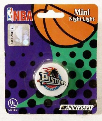 Detroit Pistons NBA Basketball Licensed Mini Night Light