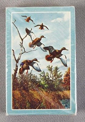 Vintage 1980's Hoyle David Maass Waterfowl Playing Cards Deck 2