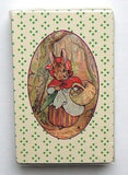 Vintage Beatrix Potter Peter Rabbit Mrs. Rabbit Playing Cards and Case