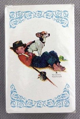 Vintage 1970's Norman Rockwell Adventures Between Adventures Playing Cards