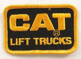 Vintage 1980's Caterpillar CAT Lift Trucks CAT Plus Patch Set