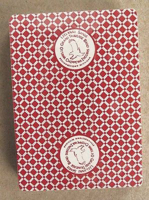 Leelanau Sands Casino and Lodge Red Poker Size Casino Playing Cards