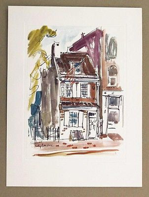 Vintage Kay Smith Betsy Ross House Print