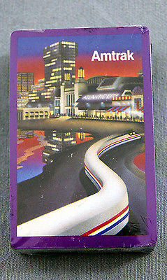 Vintage 1980's Amtrak Atlantic City Stardust Hoyle Playing Cards
