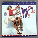 1996 2024 Gil Elvgren Pin-Up Girls Calendar