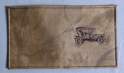 Vintage 1970's Classic Car Etchcraft Credit Card Billfold Wallet