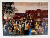 Vintage National Guard Goodbye Dear, I'll Be Back In A Year Mort Kunstler Print