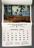 Vintage 1984 2040 David Maass Wildfowl Large Format Calendar