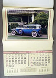 Vintage 1984 2040 Album of Antique Cars Calendar