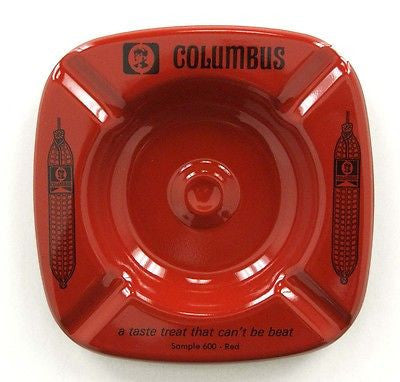 Vintage 1970's Columbus Salame Salami Ashtray