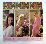 Vintage 1970 Turn on With Us Astrology Pin Up 12 Print Set