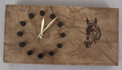 Vintage 1978 Ak-Sar-Ben Thoroughbred Racing Association Seattle Slew Wall Clock